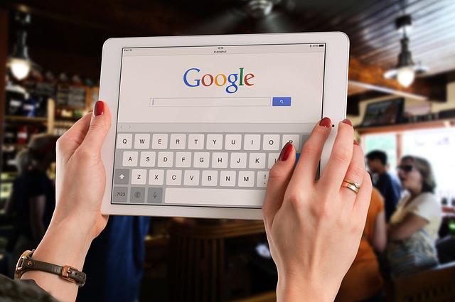 Syns på Google